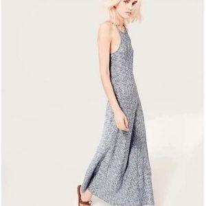 Lou & Grey LOFT Spacedye Striped Maxi Dress